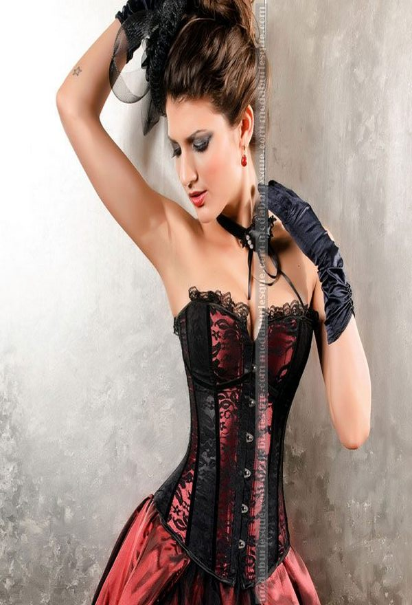 Corsetto lady burlesque